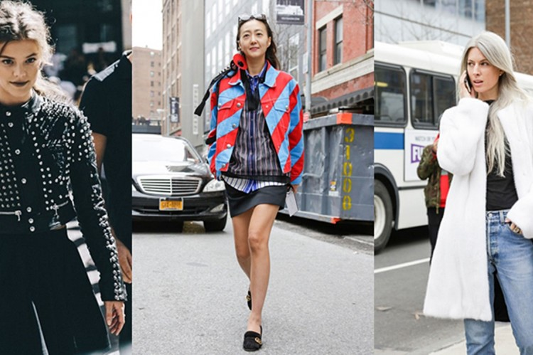 "New York Fashion Week 2016: TOP 10 ""Street style"" outfitov"
