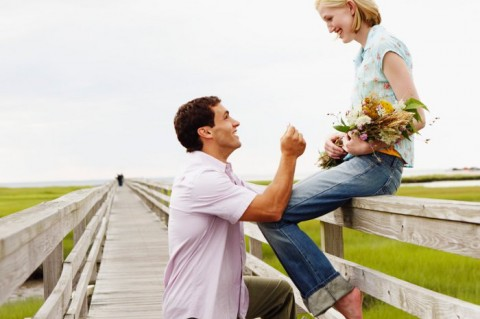 Getting engaged before a year of dating