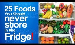 25 Foods You Should Never Store in the Fridge