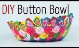 DIY craft : Button Bowl - Ana | DIY Crafts
