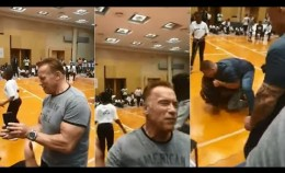 Schwarzenegger assaulted with flying kick during event in South Africa I ABC7