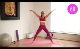 """5 min """"Wake up Happy"""" Morning Workout Routine"""